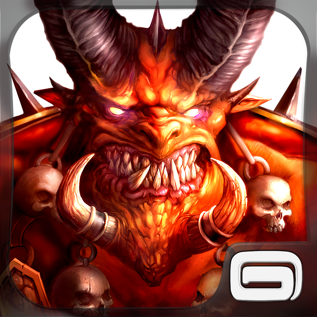 Dungeon Hunter 4 by Gameloft icon